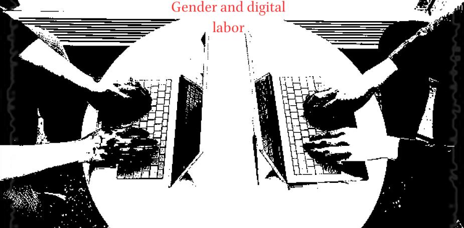Gender and digital labor