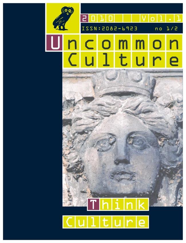 View Vol. 1, no. 1/2 (2010): Think Culture