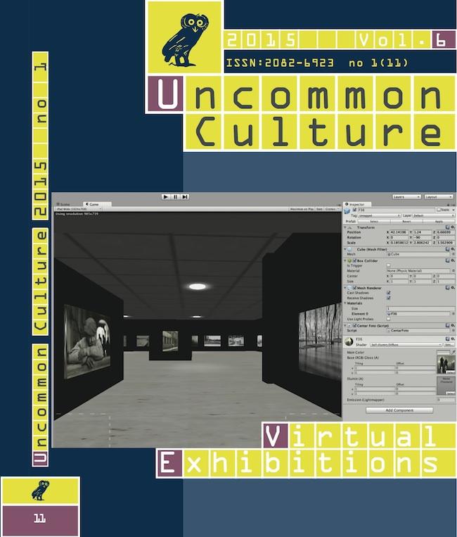 View Vol. 6, no. 1 (11) (2015): Virtual Exhibitions